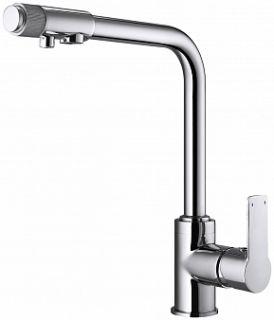 Смеситель для кухни под питьевую воду OLIMP, d-35 монтаж - гайка,
