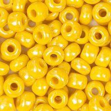 Бисер чешский 88110 непрозрачный лимонный жемчужный Preciosa 1 сорт