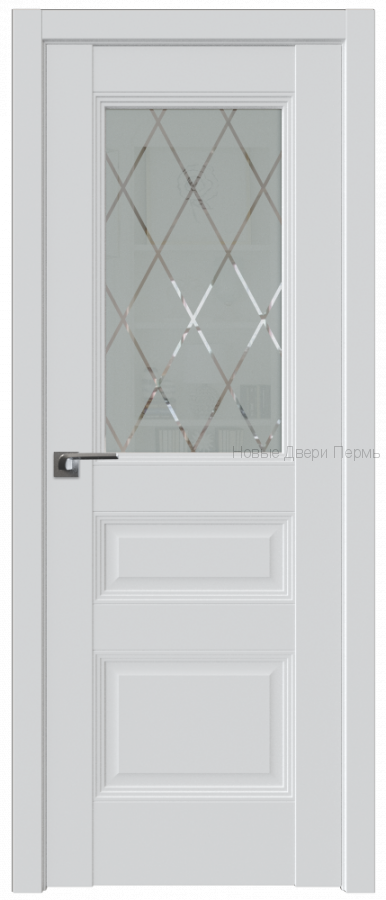 67U АЛЯСКА стекло Ромб - PROFIL DOORS межкомнатные двери