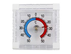 Термометр биметаллический, квадрат