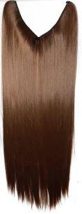 Искусственные термостойкие волосы на леске прямые №006А (60 см) - 100 гр.