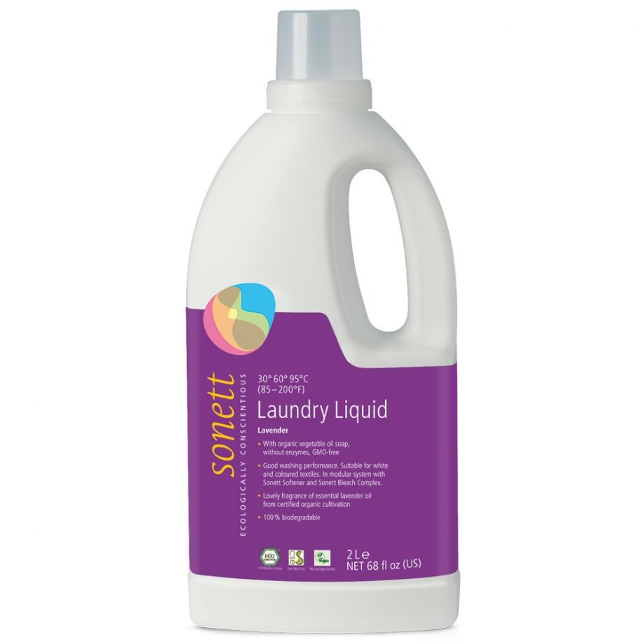 Sonett Жидкое средство для стирки Лаванда концентрат, 2 л