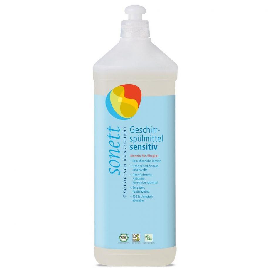 Sonett Средство для мытья посуды Sensitive для чувствительной кожи 1 л