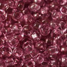 Бисер чешский 01195 прозрачный розово-сиреневый блестящий Preciosa 1 сорт