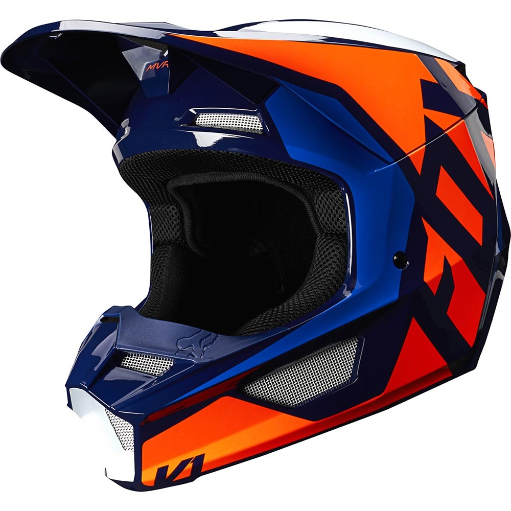 Fox - 2020 V1 Prix LOVL SE Orange/Blue шлем, оранжево-синий