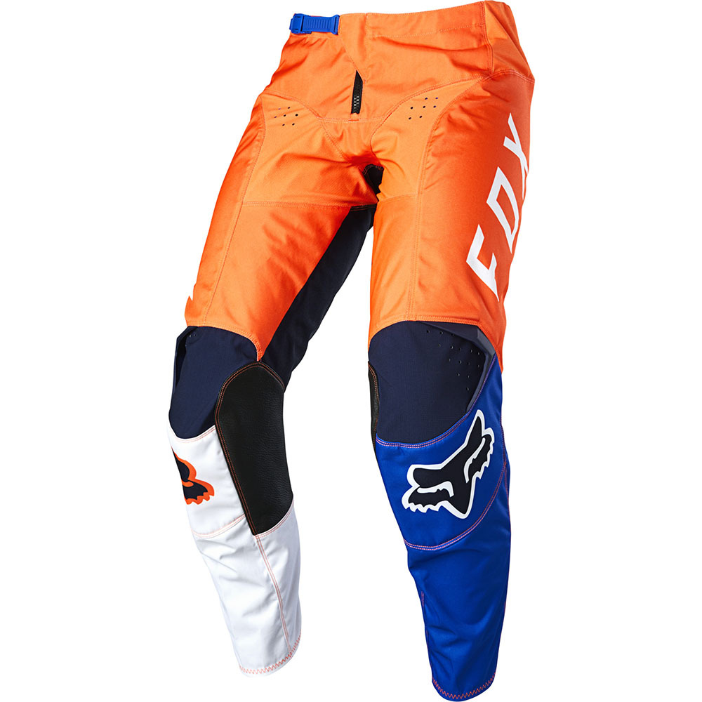 Fox - 2020 180 LOVL SE Orange/Blue штаны, оранжево-синие