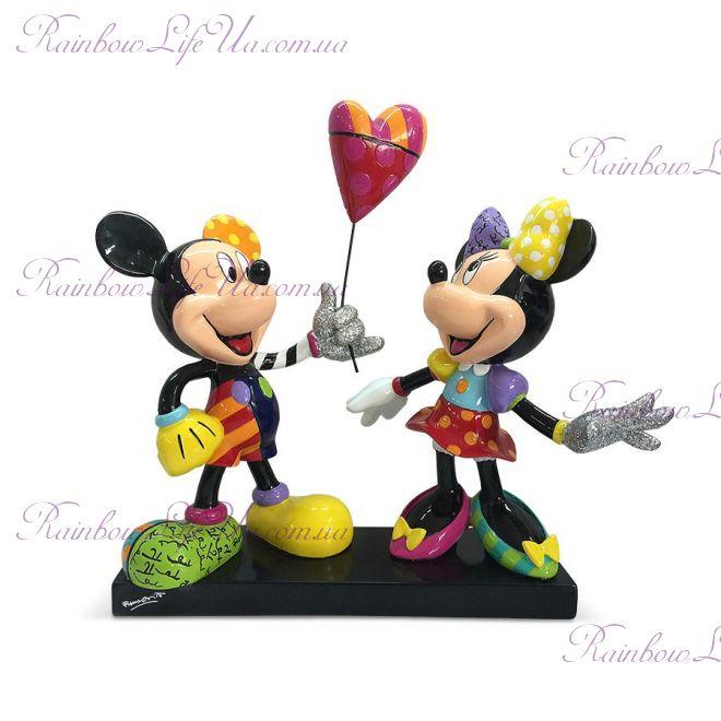 "Фигурка Микки Маус и Минни шарик для любимой ""Disney. Britto"""