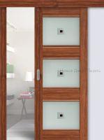 4Х модель, 3 цвета, раздвижная дверь комплект Профильдорс