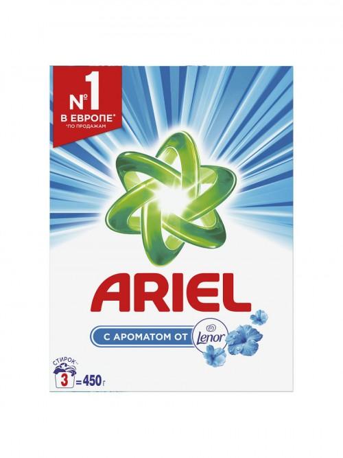 """Ariel """"с ароматом Lenor"""" 450гр"""