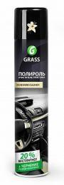 """Полироль-очиститель пластика Grass """"Dashboard Cleaner"""" ваниль (аэрозоль 750мл) цена, купить в Челябинске"""