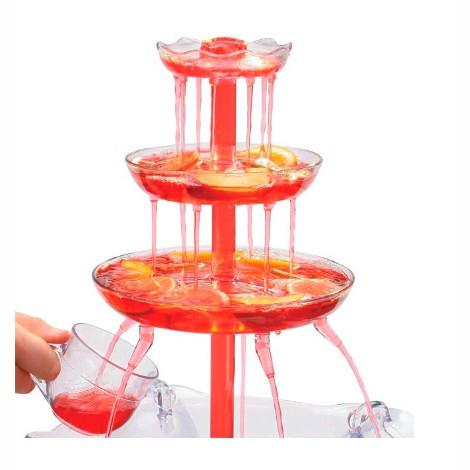 Фонтан для напитков с подсветкой Party Fountain