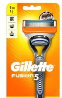 GILETTE Fusion  5 c 2 насадками