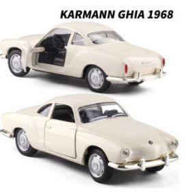 Металлическая модель автомобиля Karmann Ghia 1968 масштаб 1:38