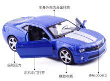 Металлическая модель автомобиля chevrolet camaro ss 2010 масштаб 1:38 синяя