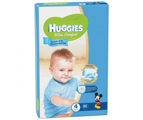 "Huggies ""Ultra Comfort 4"" 80 шт."