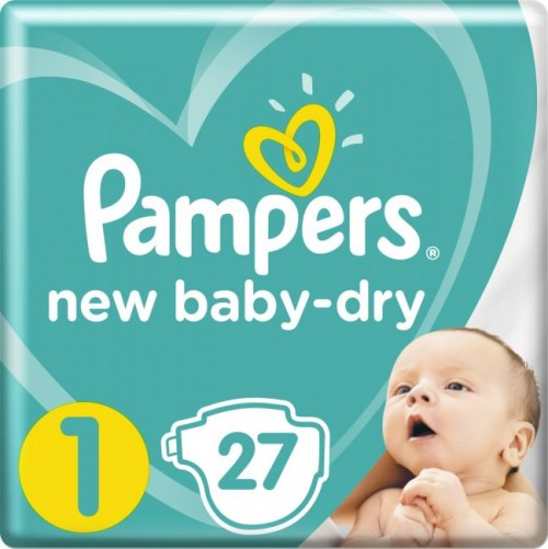"""Pampers """"New Baby-Dry 1"""" 27 шт."""