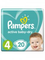 "Pampers ""Active baby-Dry 4"" 20 шт."