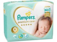 "Pampers ""Premium Care 0"" 30 шт."