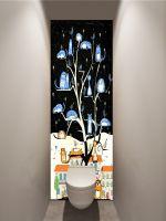 Фотообои в туалет - КотоВасия магазин Интерьерные наклейки