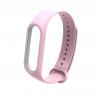 Ремешок для браслета Xiaomi Mi Band 3 (розовый)