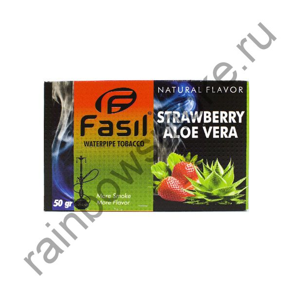 Fasil 50 гр - Strawberry Aloe Vera (Клубника с Алое Вера)