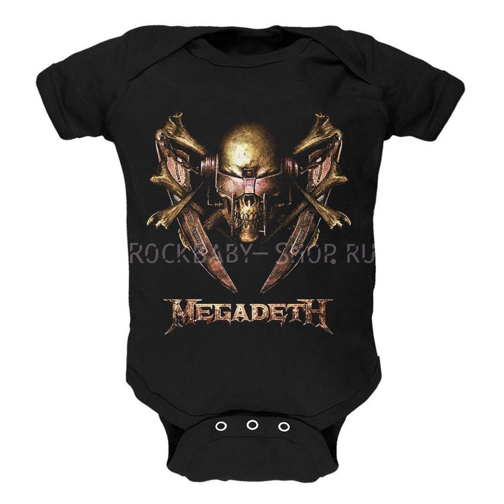 Детский боди Megadeth