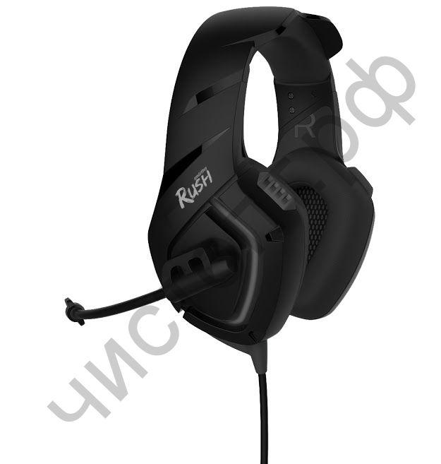 Гарнитура (науш.+микр.) Smartbuy RUSH SKYTHE, динамики 50мм, гибкий микрофон, черная (SBHG-8400)