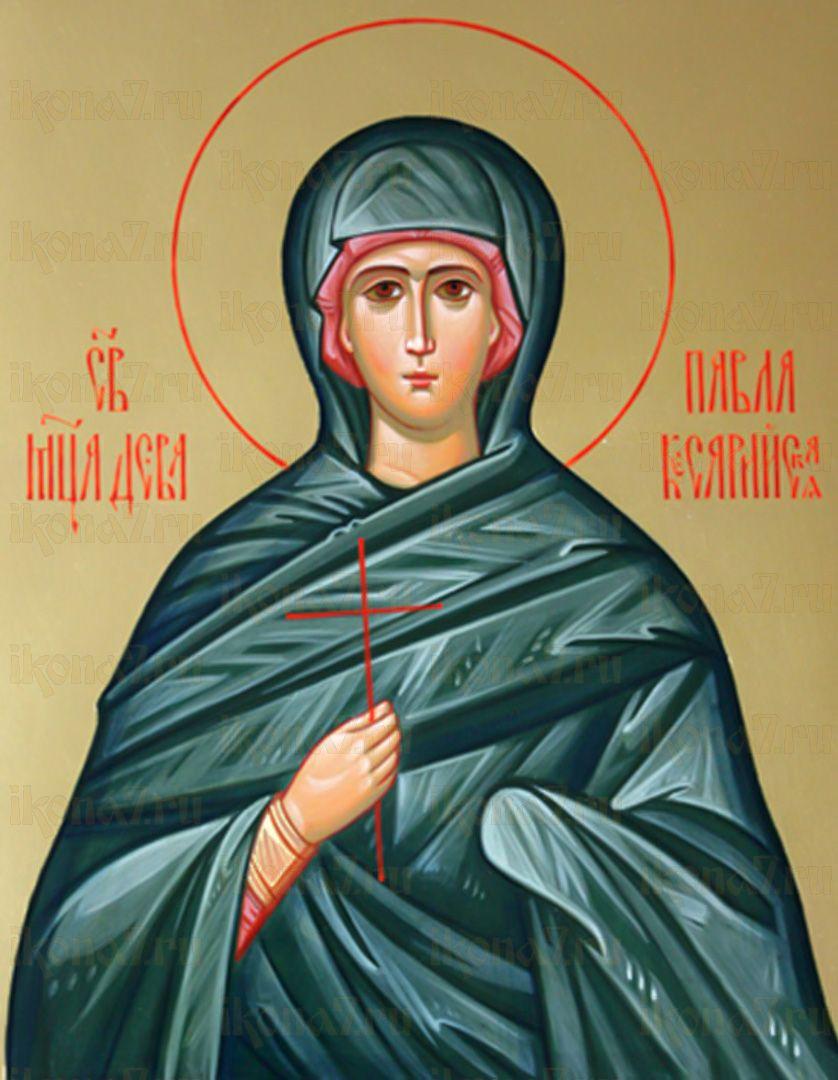 Икона Павла Кесарийская (Палестинская) мученица
