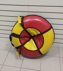 Тюбинг 100 см ПВХ красно желтые