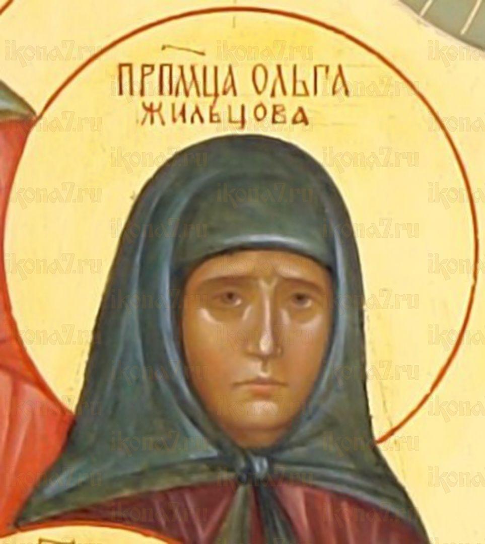 Икона Ольга Жильцова преподобномученица