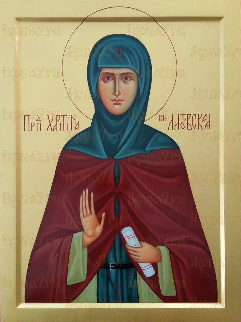 Икона Икона Харитина Литовская преподобная