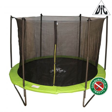 Батут с сеткой DFC JUMP 12ft apple green
