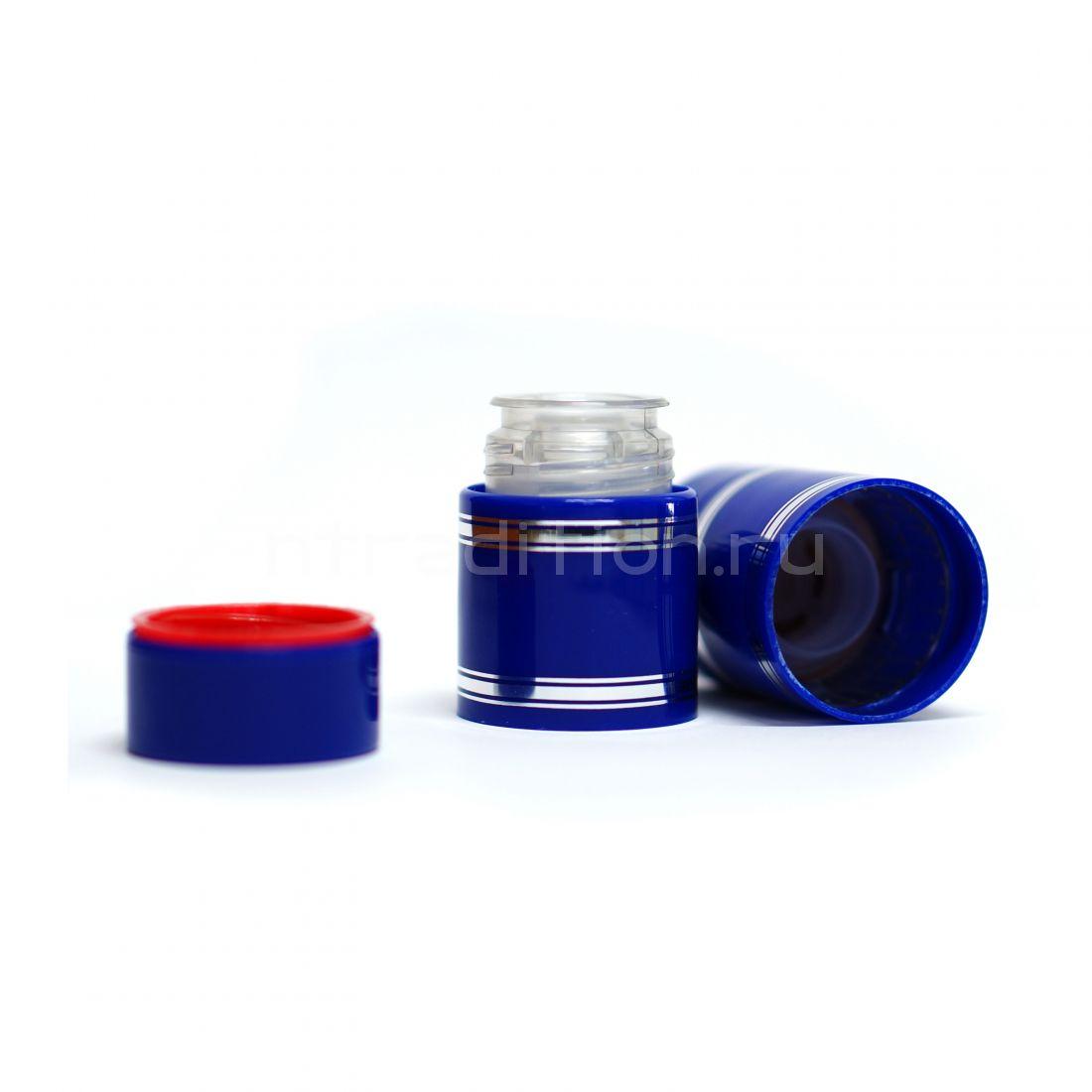 Полимерный колпачок с дозатором синий (Гуала 47 мм) / 10 шт