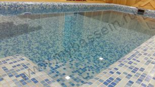 Частный скиммерный бассейн г. Челябинск