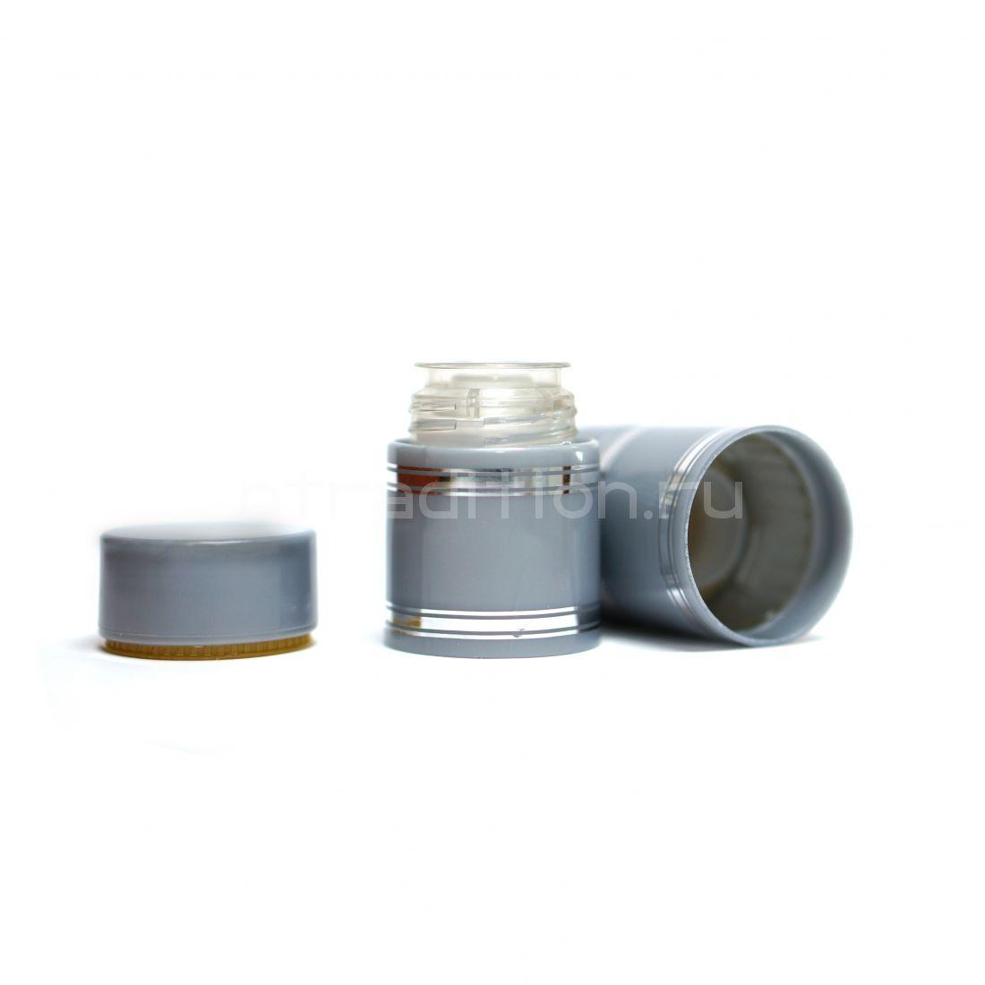 Полимерный колпачок с дозатором серый (Гуала 47 мм) / 10 шт
