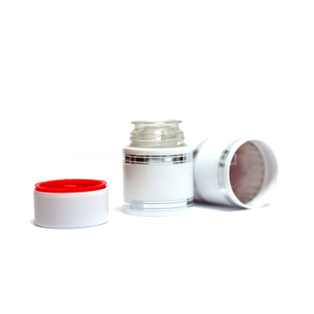 Полимерный колпачок с дозатором белый (Гуала 47 мм) / 10 шт