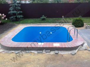 Скиммерный частный бассейн из полипропиллена