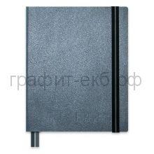 Еженедельник недат.А4 Феникс+ Наппа графитовый металлик на резинке искусственная кожа 352стр. 47597