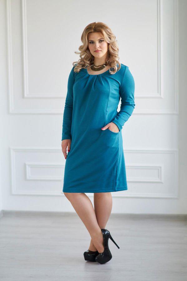 Платье арт.0120-60 темно-изумрудное, милано