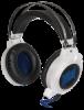 Акция!!! Игровая гарнитура Icefall G-510D белый+синий, кабель 2,2 м