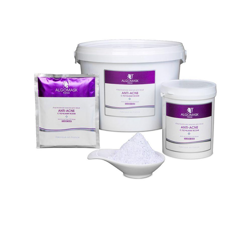 АКЦИЯ! ALGOMASK  Альгинатная маска для лица «Anti-Acne» (восстанавливающая) (для жирной и проблемной кожи) банка 200г