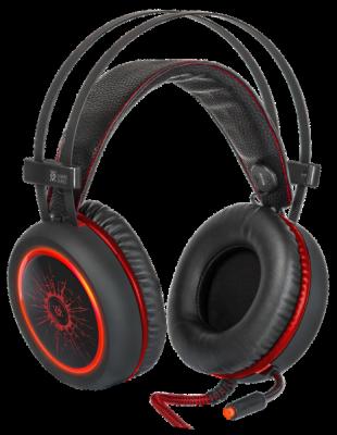 НОВИНКА. Игровая гарнитура DeadFire G-530D черный+красный, кабель 2,2 м