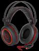 Игровая гарнитура DeadFire G-530D черный+красный, кабель 2,2 м
