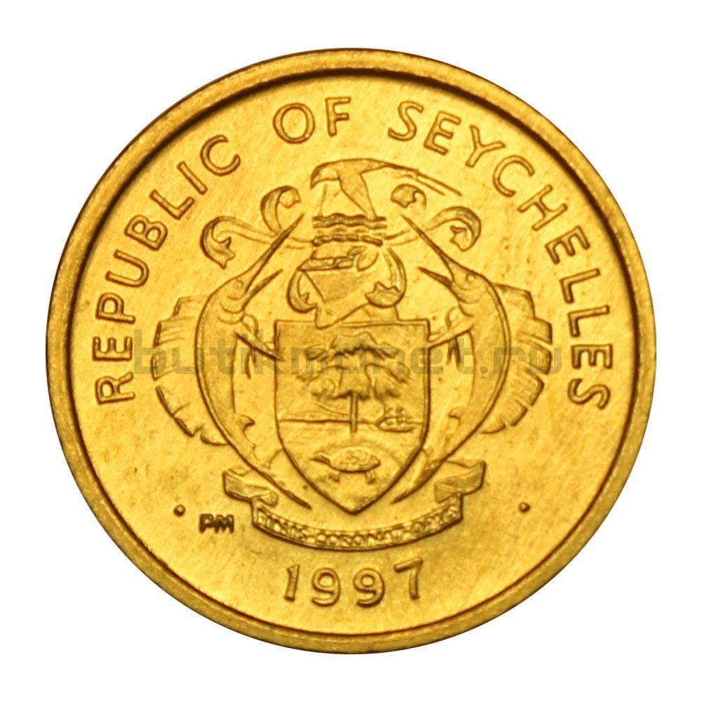 1 цент 1997 Сейшелы