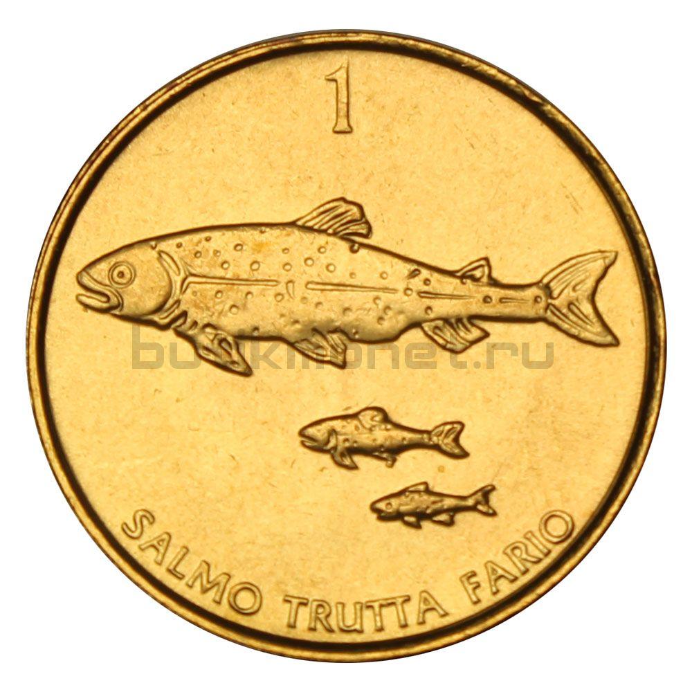 1 толар 2001 Словения