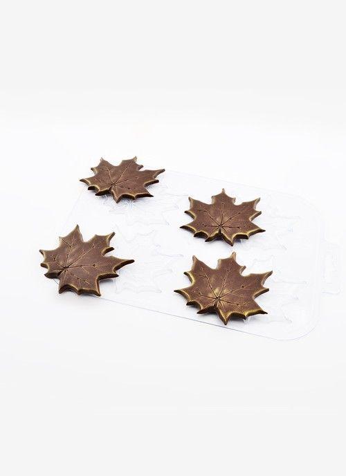 """Форма пласт """"Кленовые листья"""""""