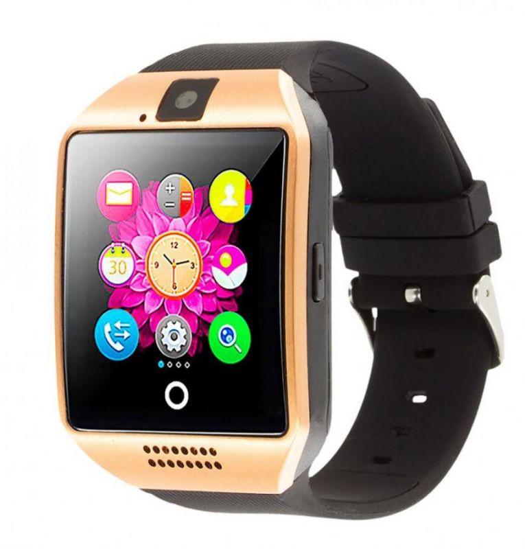 Умные Часы Smart Watch Q18, Цвет Золотистый
