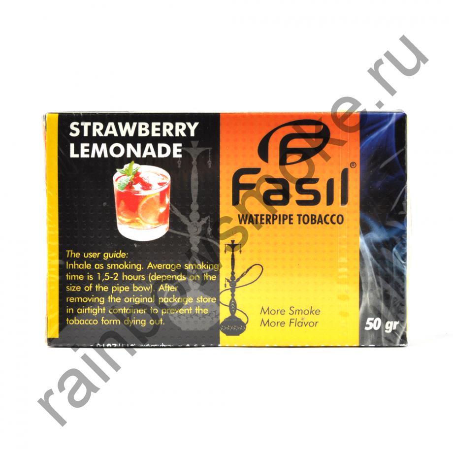 Fasil 50 гр - Strawberry Lemonade (Клубничный Лимонад)