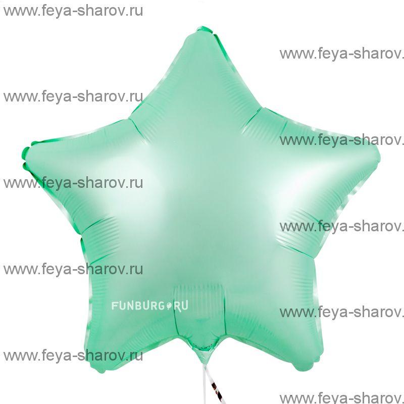 Шар Мята Сатин 46 см