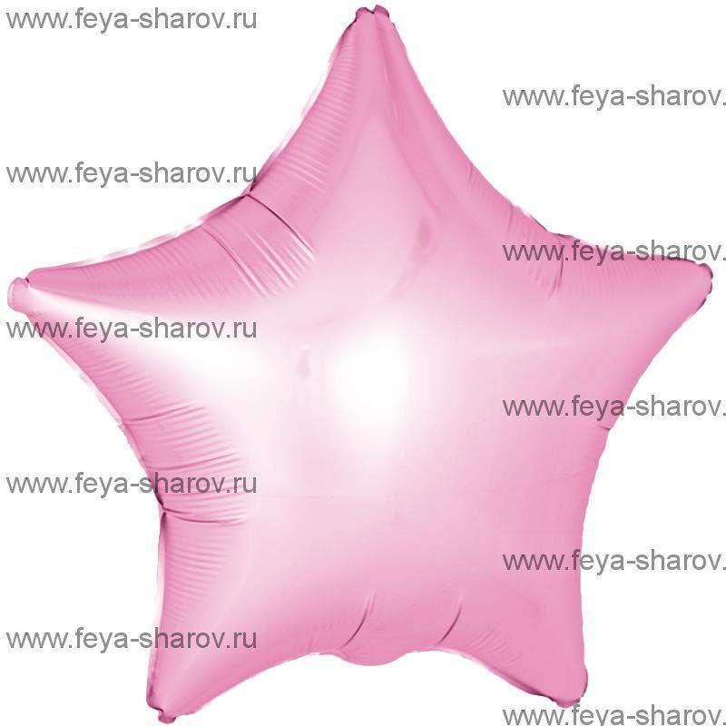 Шар Розовый Сатин 46 см